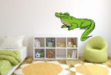 Kinder teenager wandtattoos online bei print it all kaufen - Krokodil wandtattoo ...