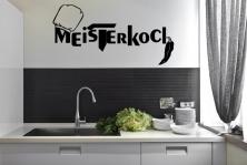 """Wandtattoo """"Meisterkoch"""""""