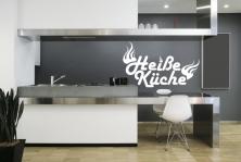 """Wandtattoo """"Heiße Küche"""""""
