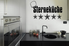 """Wandtattoo """"Sterneküche"""""""