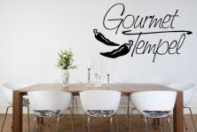 """Wandtattoo """"Gourmet Tempel"""""""