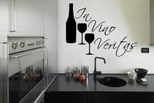 """Wandtattoo """"In Vino Veritas"""""""
