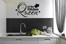 "Wandtattoo ""Queen of the Kitchen"""