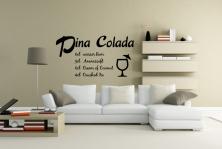 "Wandtattoo ""Pina Colada"""