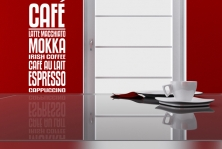"""Wandtattoo """"Café-Bordüre"""""""