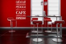 """Wandtattoo """"Café-Bordüre 2"""""""
