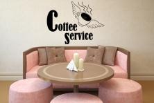 "Wandtattoo ""Coffee Service"""