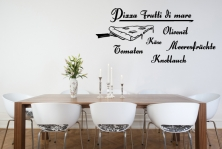 "Wandtattoo ""Pizza Frutti di mare"""