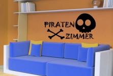 "Wandtattoo ""Piratenzimmer"""
