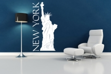 "Wandtattoo ""New York"""