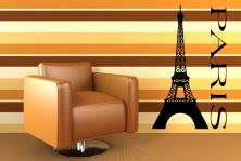 "Wandtattoo ""Paris"""