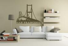 "Wandtattoo ""San Francisco"""