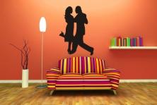 "Wandtattoo ""Tanzendes Paar"""