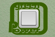 "Steckdosentattoo ""Green Power"""