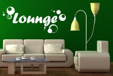 "Wandtattoo ""Lounge"""