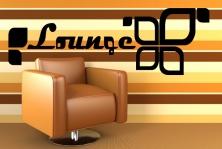 "Wandtattoo ""Lounge 2"""