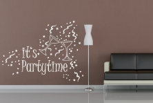 """Wandtattoo """"It's Partytime"""""""
