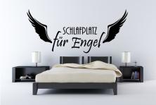 """Wandtattoo """"Schlafplatz für Engel"""""""