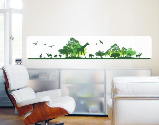Wallprint Tanzania Tour S - 125cm x 23cm
