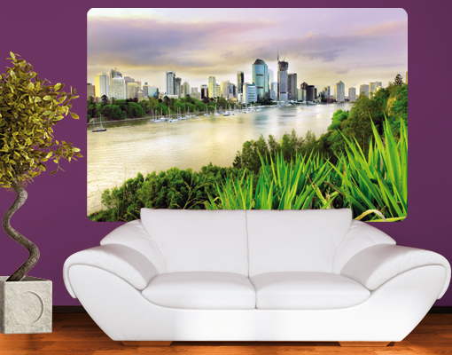 Wallprint Brisbane S - 36cm x 54cm