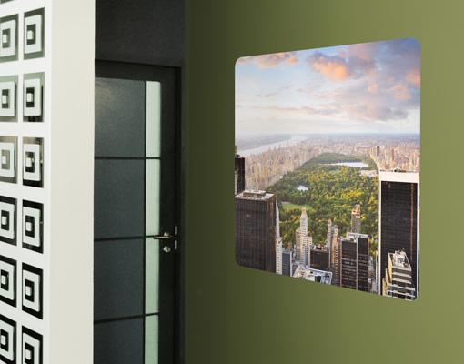 Wallprint Blick über den Central Park S - 36cm x 36cm