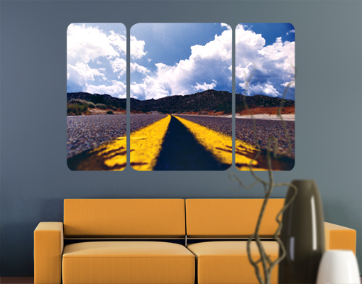 Wallprint Death Valley Triptychon II S - 54cm - 36cm
