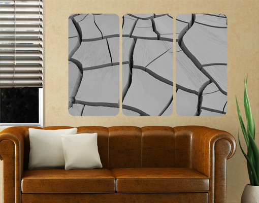 Wallprint African Earth Triptychon I S - 54cm x 36cm