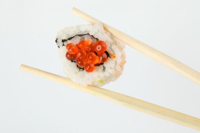 """Wallprint """"Sushi Stäbchen 2"""""""
