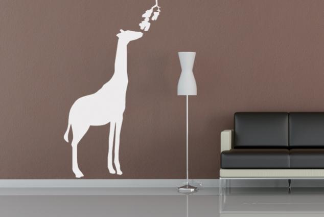 wandtattoo giraffe online bei print it all kaufen. Black Bedroom Furniture Sets. Home Design Ideas