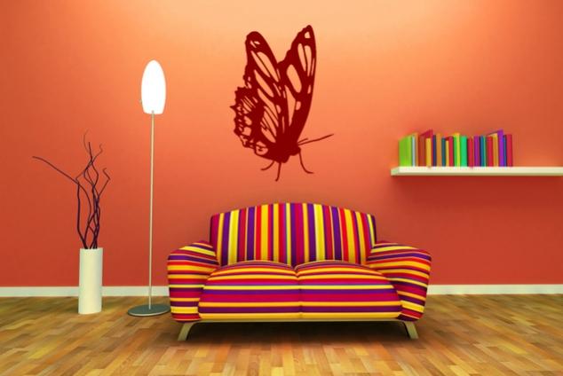 Schmetterling Wandtattoo