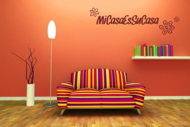 Wandtattoo mi casa es su casa online bei print it all kaufen for Mi casa online