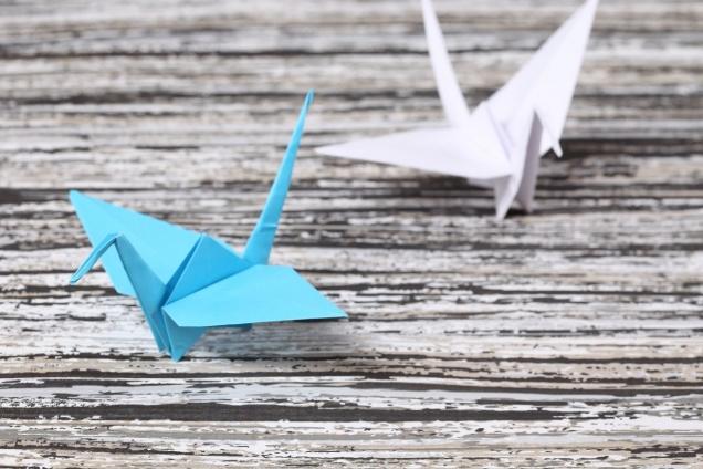 "Wallprint ""Origami 2"""