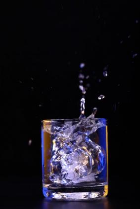 "Wallprint ""Gin Ice"""