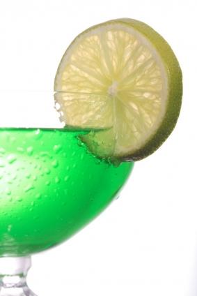 """Poster """"Cocktail mit Zitrone"""""""