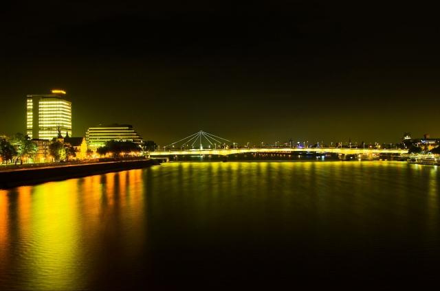 """Wallprint """"river glow"""""""