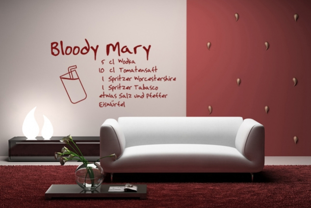 "Wandtattoo ""Bloody Mary"""