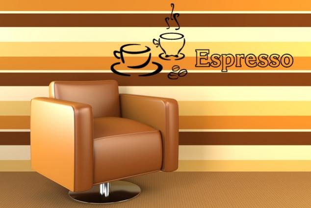 """Wandtattoo """"Espresso"""""""