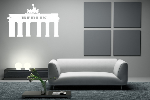 "Wandtattoo ""Berlin"""