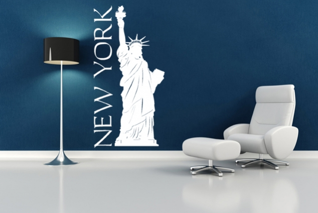 wandtattoo new york online bei print it all kaufen. Black Bedroom Furniture Sets. Home Design Ideas
