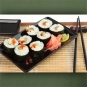 "Poster ""Sushi Arrangement 2"""