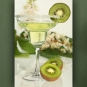 "Poster ""Cocktail mit Kiwi"""
