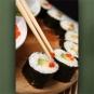 "Poster ""Sushi Platte"""