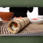 "Wallprint ""Sushi Rolle"""