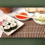 "Wallprint ""Sushi Teller"""