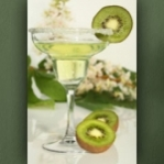 "Wallprint ""Cocktail mit Kiwi"""