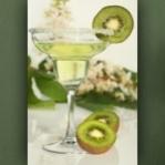 "Poster ""Cocktail mit Kiwi"""