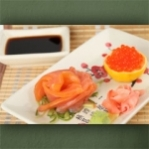 "Wallprint ""Sushi Teller 2"""