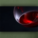 "Wallprint ""Rotwein 2"""