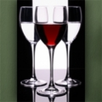 """Wallprint """"Wein Weiß Rot"""""""