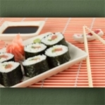 "Wallprint ""Sushi Teller 3"""